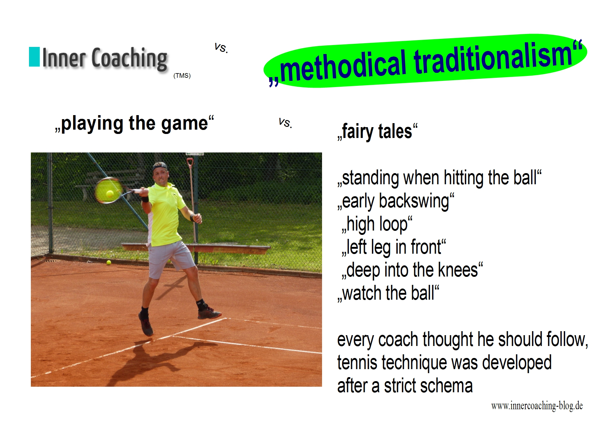INNER COACHING (TMS) or Methodical traditionalism